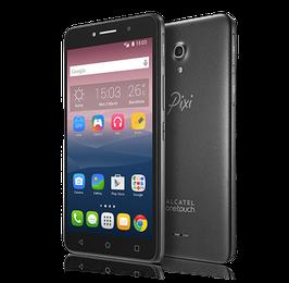 """Smartphone Alcatel Pixi 4, 6"""" 720x1280, Android 5.0, 3G, Dual SIM, Desbloqueado."""