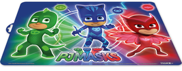4X SET DE TABLE PJ MASKS 42x28cm à € 1.20