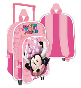 4X TROLLEY / SAC à DOS  MINNIE 24X36X12CM à € 13.90
