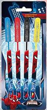 4X SET DE 4 STYLOS GEL SPIDERMAN à  € 1.60