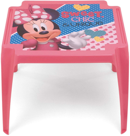 4X Table MINNIE PP Monoblock, rose  € 16.00
