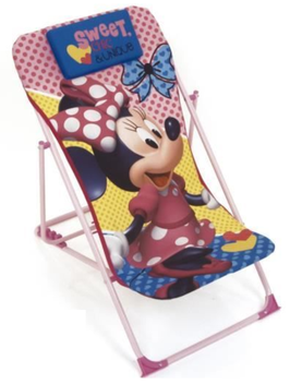 3X TRANSAT / CHAISE LONGUE PLIABLE MINNIE 43x66x61cm à € 15.00