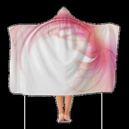 Handuch mit Kapuze Flower Wings Pink