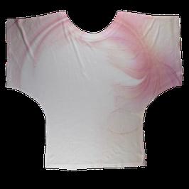 Wohlfühl - Shirt Schutzengel für Yoga, Sport und Freizeit FLOWER WINGS Pink
