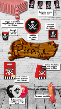 Box anniversaire Pirate