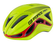 FORCE HELMET REX FLUO/RED