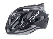 FORCE HELMET FUGU BLACK/GREY WHITE/BLACK