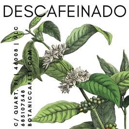 CAFÉ DESCAFEINADO DE ORIGEN