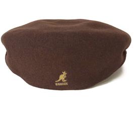 KANGOL Wool 504 TOBACCO