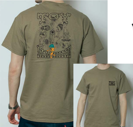 TOY MACHINE CHARACTERS SS TEE