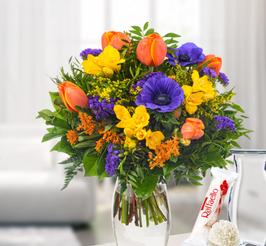 Großer  Frühlings Blumenstrauß