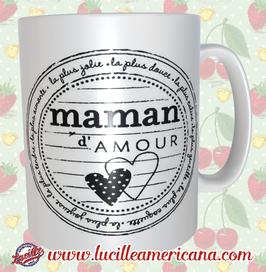 Mug Maman d'Amour Stamp