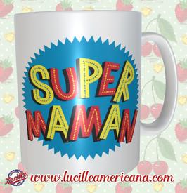 Mug Super Maman Comics