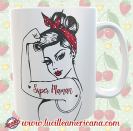 Mug Girl Power Super Maman