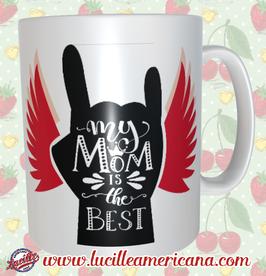 Mug Mom Best Rock