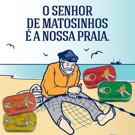 Pinhais *Der Herr von Matosinhos ist unser Strand.