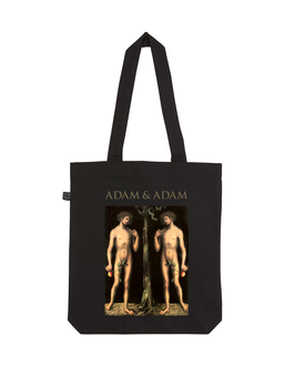 EARTHPOSITIVE® ORGANIC FASHION BAG  |   BLACK  |   ADAM & ADAM