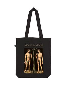 EARTHPOSITIVE® ORGANIC FASHION BAG  |   BLACK  |   ADAM & ADAM