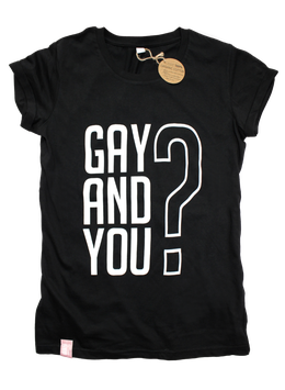GAY AND YOU | BLACK/WHITE