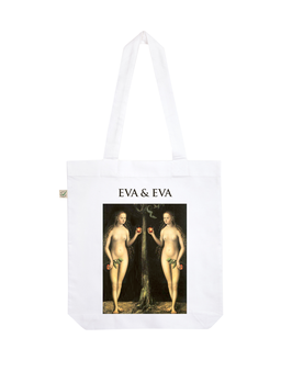 EARTHPOSITIVE® ORGANIC FASHION BAG  |   WHITE  |   EVA & EVA