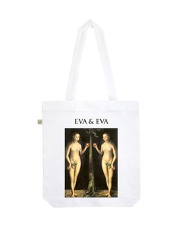 EARTHPOSITIVE® ORGANIC FASHION BAG  |   WHITE  |   EVA & EVA