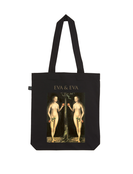 EARTHPOSITIVE® ORGANIC FASHION BAG  |   BLACK  |   EVA & EVA