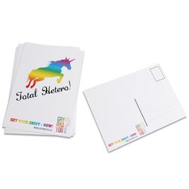 "Postkarte ""TOTAL HETERO"""
