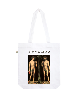 EARTHPOSITIVE® ORGANIC FASHION BAG  |   WHITE  |   ADAM & ADAM
