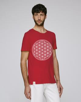 RED SHIRT  |   FLOWER OF LIFE   |   WHITE
