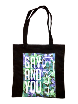 BLACK BEAUTY - CANVAS TOTE BAG