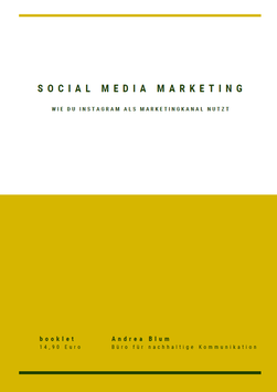 "eBOOKlet ""Social Media Marketing: Wie du Instagram als Marketingkanal nutzt"""