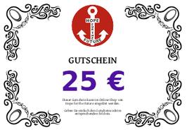 """""""Gutschein"""" Nr. 00025"""