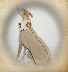 """Softshell Hundemantel """"Aralia"""" mit integriertem Body"""