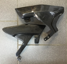 Exhaust guard Ducati MS4R