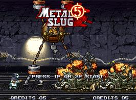 METAL SLUG 5 メタルスラッグ5