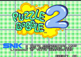 "PUZZLE BOBBLE 2 / BUST - A - MOVE AGAIN  ""EX"""