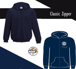 OFC Hoodie mit Zipper - Navy Blau