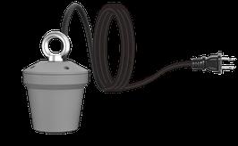 Fassung E27 / E40 für Standfuss für UVC - Desinfektion´s - Leuchtmittel E27 / E40 - Professional PRO Line 60W & 80W
