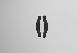 Erweiterungsbügel zum Zusammenfügen von 2 LED Sniper T900