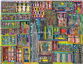 James Rizzi - new york city is a great place to be