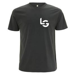 BIO-T-SHIRT (DARK GREY/DENIM)   LG