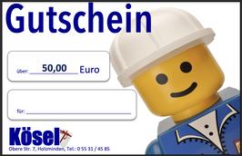 Geschenkgutschein im Wert von 50,00 Euro