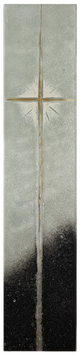 Sonder43  GO-2622  70cm x 15cm x 1,2cm Glasornament