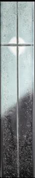 GO-2622 Kreuz Verlauf Schwarz-Weiß