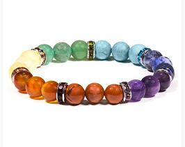 Bracelet élastique 7 chakra