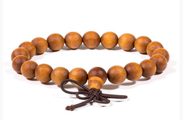 Mala / bracelet bois de santal - élastique