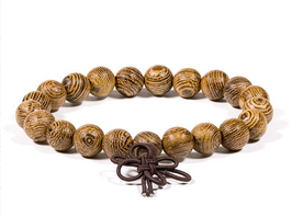 Mala bracelet bois wengé élastique 13101