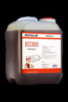 Motalin RECORD Rostlöser 5 Liter Kanister