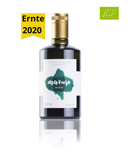 Marujo Oro Verde - Picual (BIO) - 500 ml - Ernte 2020