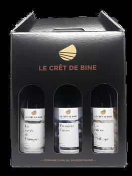 Domaine du Crêt de Bine - 1 coffret de 3 bouteilles